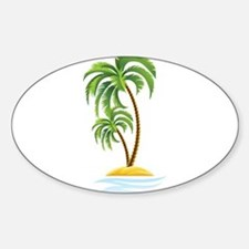 Palm Tree Bumper Stickers