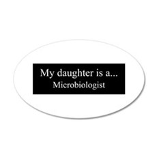Daughter - Microbiologist Wall Decal