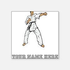 Custom Karate Black Belt Sticker