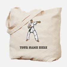 Custom Karate Black Belt Tote Bag
