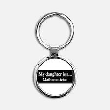 Daughter - Mathematician Keychains
