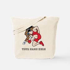 Custom Wrestling Tote Bag