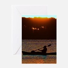 A Reason to Kayak Greeting Cards