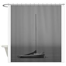 Serenity - BW Shower Curtain