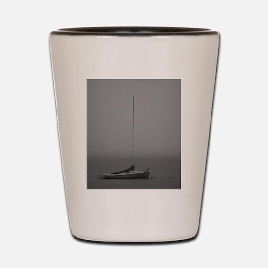 Serenity - BW Shot Glass