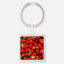 Strawberries Keychains