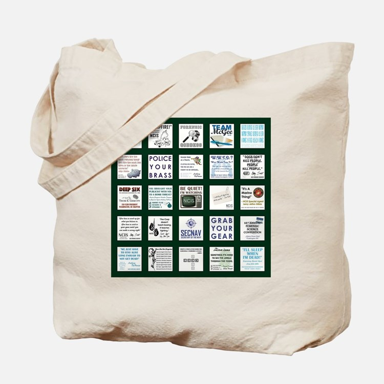 NCIS PATCHWORK QUILT Tote Bag