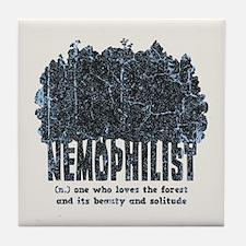 Nemophilist Tile Coaster