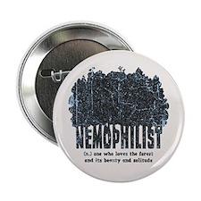 """Nemophilist 2.25"""" Button"""