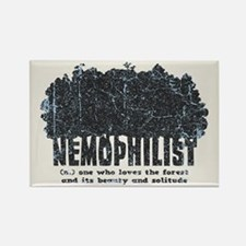 Nemophilist Rectangle Magnet