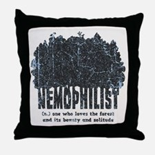 Nemophilist Throw Pillow