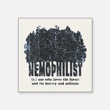 "Nemophilist Square Sticker 3"" x 3"""