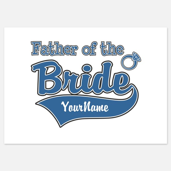 Father of the Bride 5x7 Flat Cards