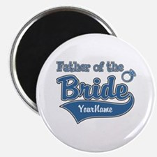 """Father of the Bride 2.25"""" Magnet (10 pack)"""