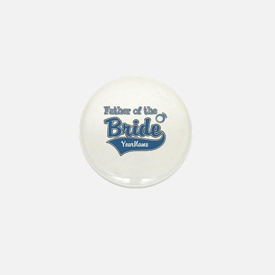 Father of the Bride Mini Button