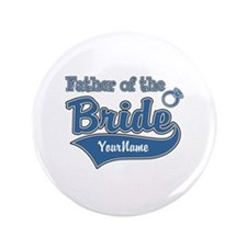 """Father of the Bride 3.5"""" Button"""