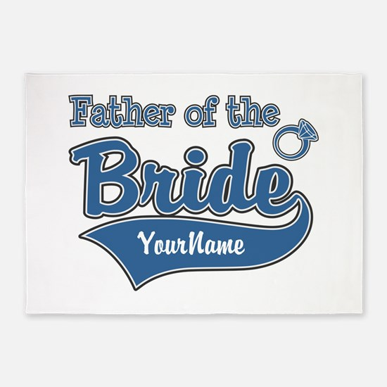 Father of the Bride 5'x7'Area Rug