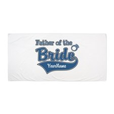 Father of the Bride Beach Towel