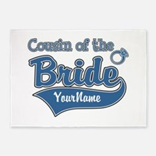 Cousin of the Bride 5'x7'Area Rug