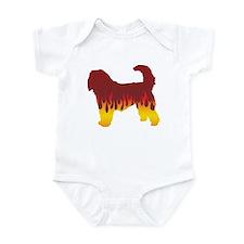 Otterhound Flames Infant Bodysuit