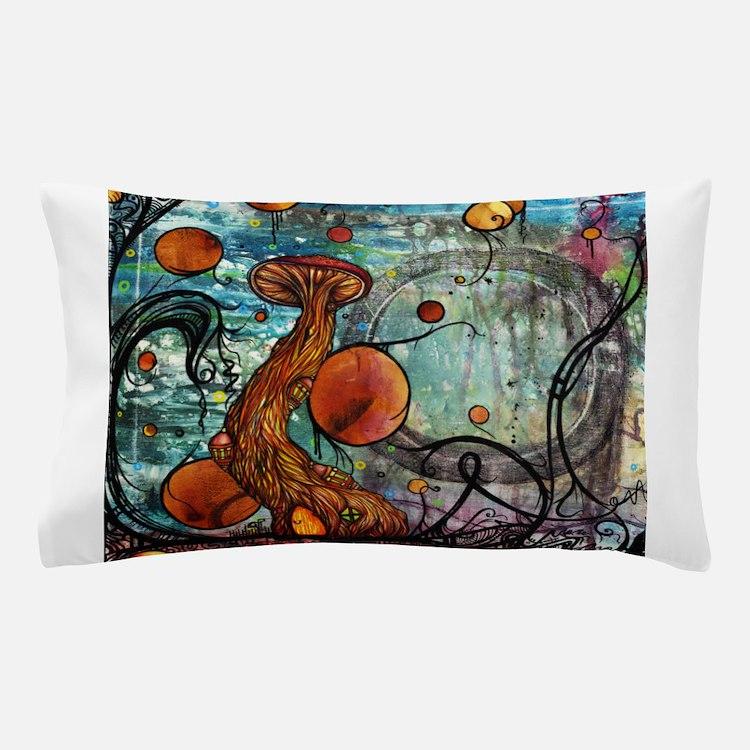 Cute Mushrooms Pillow Case