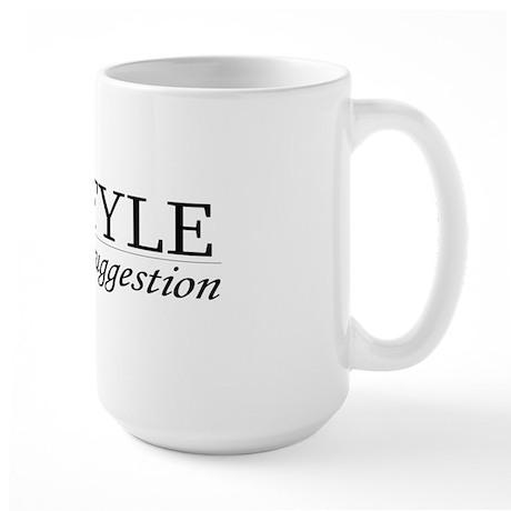 MLA Style Large Mug
