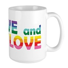 Live Let Love Ri Mugs