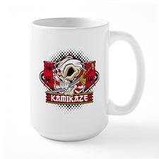 Kamikaze Skull Mug
