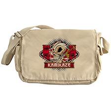 Kamikaze Skull Messenger Bag