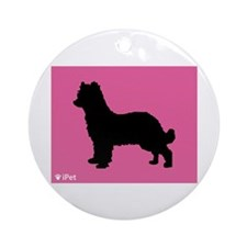 Pyrenean iPet Ornament (Round)