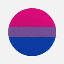 """Bisexual Pride Flag 3.5"""" Button (100 pack)"""