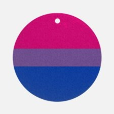 Bisexual Pride Flag Ornament (Round)