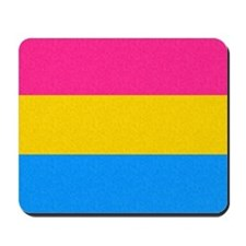 Pansexual Pride Flag Mousepad