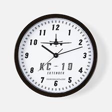 KC-10 Wall Clock