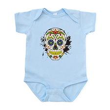 Día de los Muertos Skull Infant Bodysuit