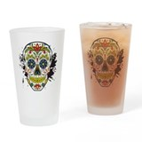 Day of the dead Pint Glasses