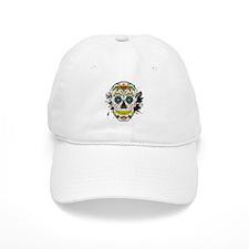 Día de los Muertos Skull Baseball Cap