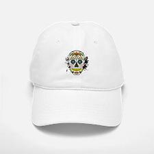 Día de los Muertos Skull Cap