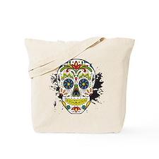 Día de los Muertos Skull Tote Bag