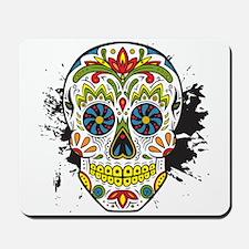 Día de los Muertos Skull Mousepad