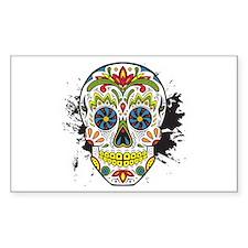 Día de los Muertos Skull Decal