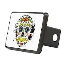 Día de los Muertos Skull Hitch Cover