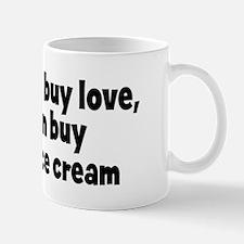 chocolate ice cream (money) Mug