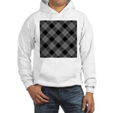 Unique Black and white checkered Hoodie