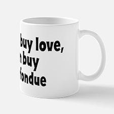 chocolate fondue (money) Mug