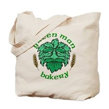 Green Man Logo 200dpi Tote Bag