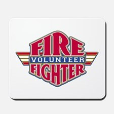 Volunteer Firefighter Mousepad