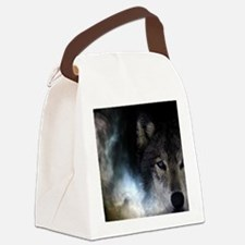 Moon wolf Canvas Lunch Bag