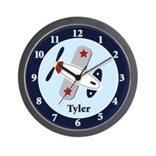 Aviator Airplane Clock - Tyler Wall Clock