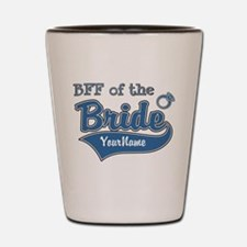 BFF of the Bride Shot Glass